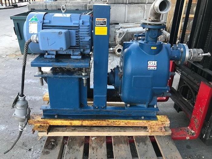 Used GORMAN RUPP MDL. T3A61S-B  /F  PUMP 20 HP