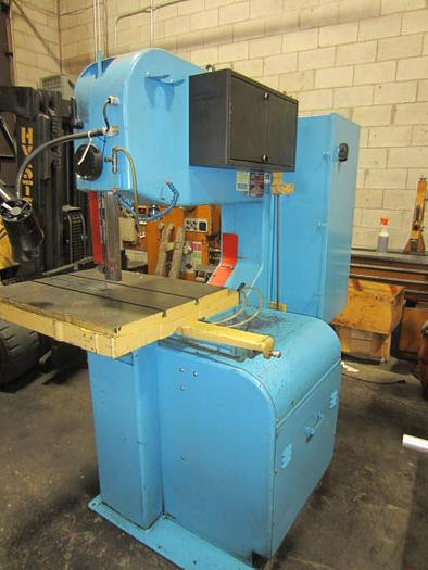 "36"" DoAll Model 3612-2H Vertical Contouring Vertical Bandsaw with Table Feed 5530"