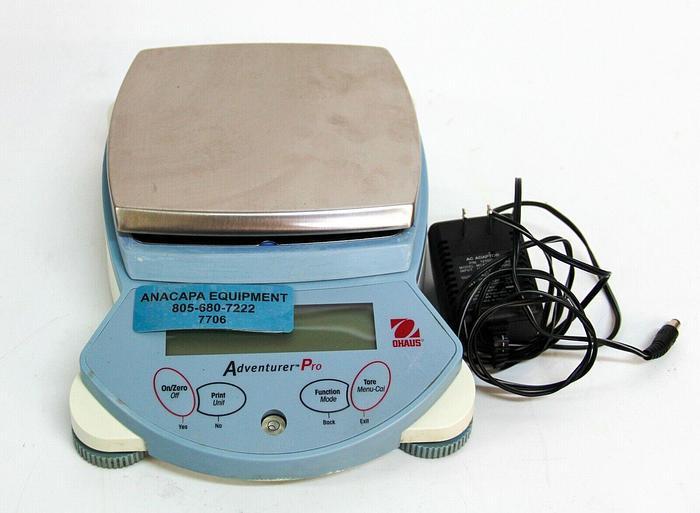 Used Ohaus AV412 Adventurer Pro 410g Capacity With Adapter (7706) W