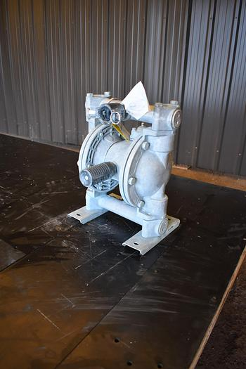 "Used USED YAMADA DIAPHRAGM PUMP, 1"" X 1"" INLET & OUTLET, ALUMINUM"