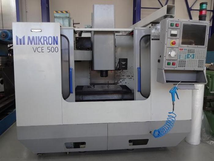 Utilisé Centre d'usinage vertical 3 axes Marque MIKRON – HAAS