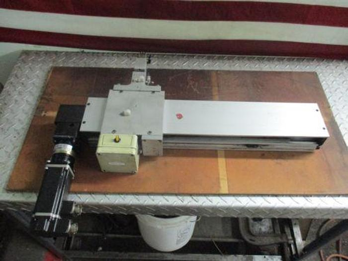 Used THK GL15B+300L BELT DRIVE LINEAR POSITIONER+OTHE​R UNITS (SEE COND.)_GREAT