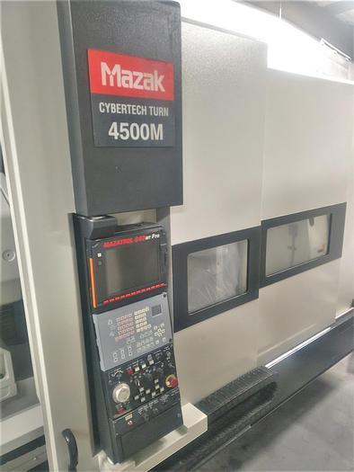 Used 2006 Mazak Cybertech Turn 4500M/3000 Big Bore