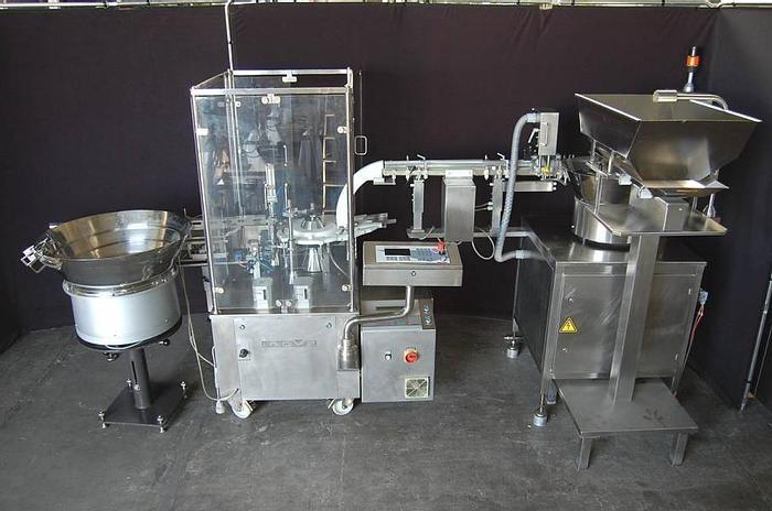 Used J 14459 D - Liquid Filler / Spray Pump Inserter INOVA VFVM 3021 for Nasal Sprays