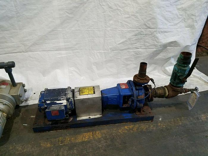 Used Ingersoil-Rand Pump H-HC Super High Pressure Water Pump High Volume 80 GPM