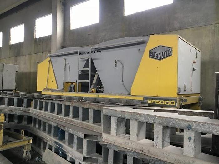 Used 2005 Elematic EF 5000 Slipformer
