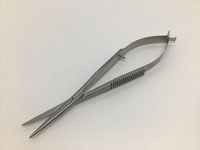 Ophthalmic Scissor Strabismus Williamson Noble Blunt Points Straight 120mm