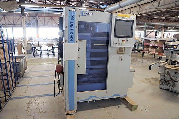 MFC003 2011 Weeke BHX 050 Centro di lavoro verticale flessibile