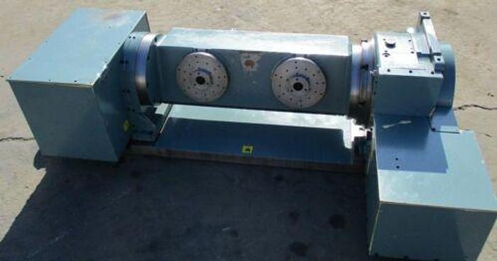 Used 2004 NIKKEN DUAL 5 AXIS CNC ROTARY TABLE MODEL 2MT-200-360 KA