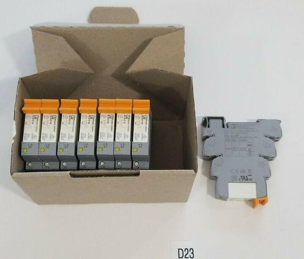 *PREOWNED* BOX OF 8 Phoenix Contact PLC-BSC-24DC/2
