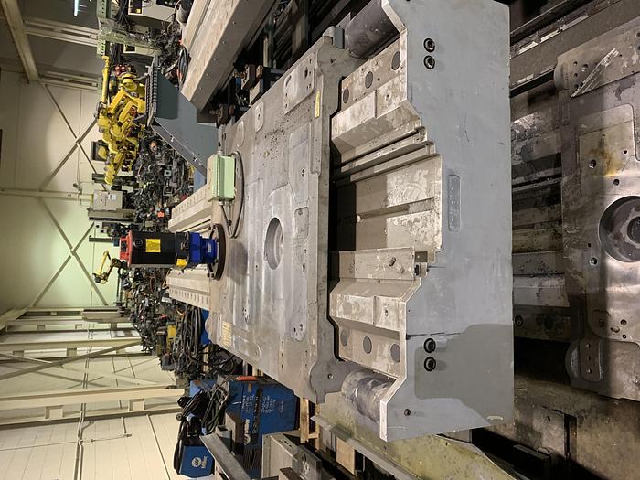 FANUC MODEL RTU-1000 7TH AXIS ROBOT FLOOR MOUNTED TRACK