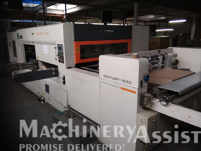 Used MWZ 1650Q Automatic Die Cutter Century