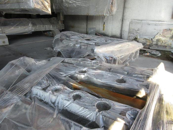 """Used Used 6"""", 7"""", & 8"""" Aluminum Log Casting Plant: MC-449"""