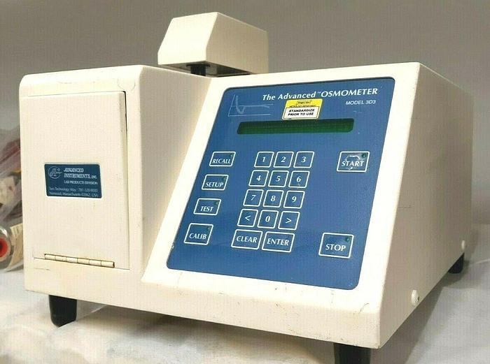 Used The Advanced Osometer Model 3D3 Single Sample Lab Equipment Medical