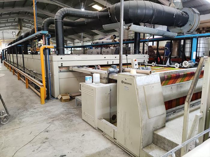 Used MONFORTS Stenter 1995 -2016  3400 mm