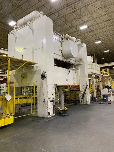 "800 ton Verson 204""x108"" Blanking Press Line"