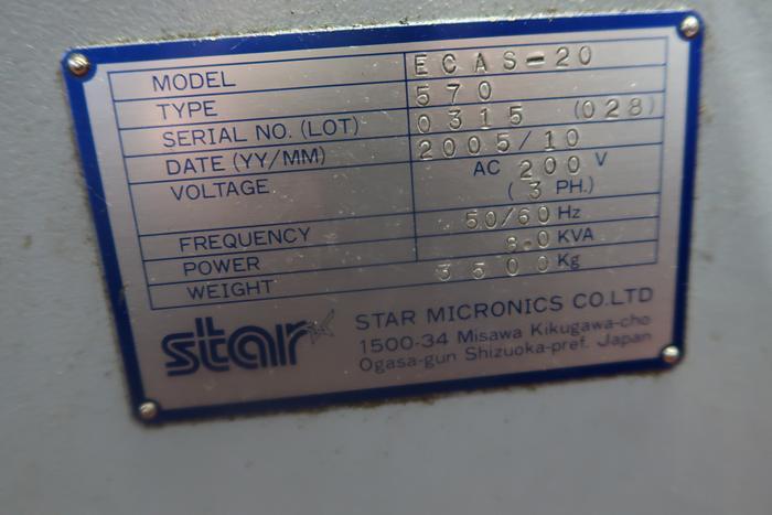 2005 Star ECAS-20