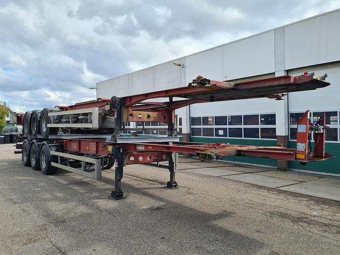 Used 2003 Turbo's Hoet S/00123 Container chassis 45ft. / 40ft.