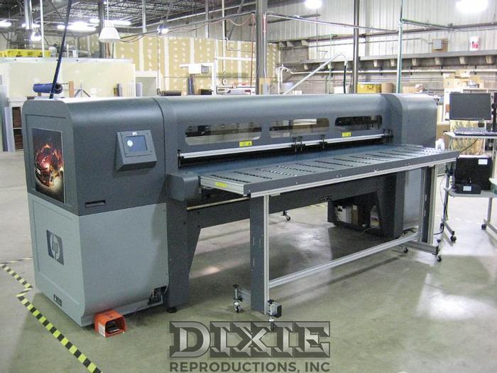 Used 2012 HP FB700 Scitex Printer