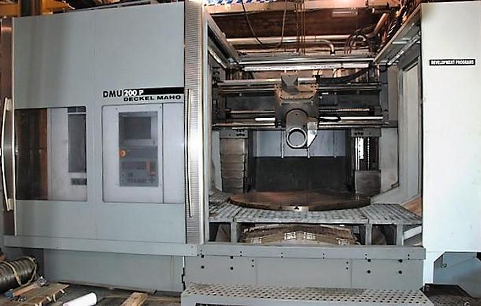 Used 2002 Deckel DMU 200P