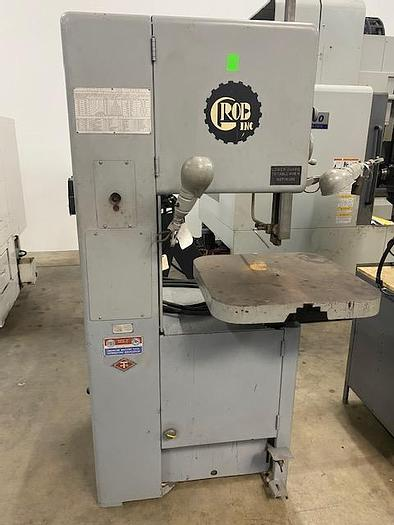 """Used Grob NS18 18"""" Vertical Band Saw"""