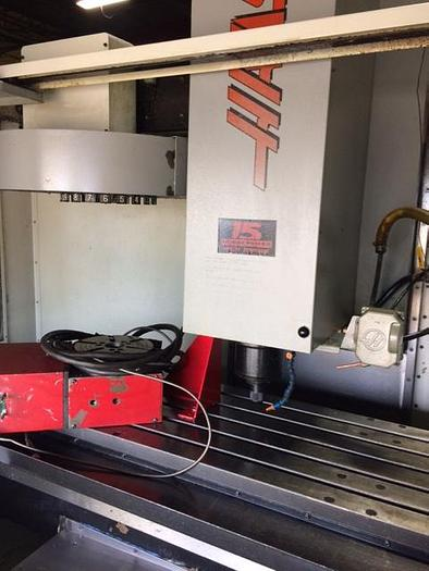 HAAS VF3 CNC VMC W/ 4TH AXIS ROTARY