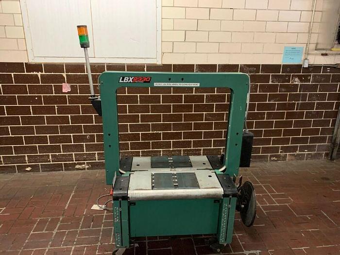 "Used Signode LBX2330 36"" X 30"" Strapping Machine Banding Machine 460V 5MM"