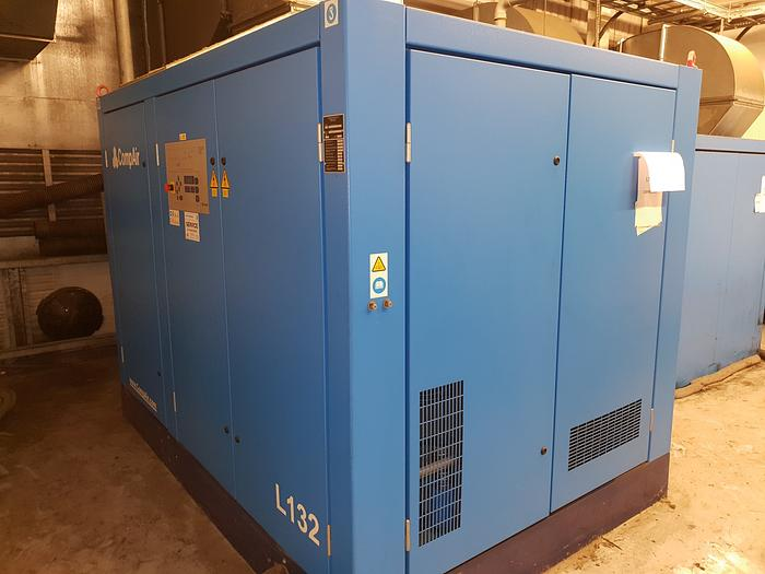 Used 2005 Compair L132 - 10A Rotary screw air compressor