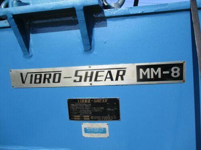 VIBRO-SHEAR MODEL MM8 (PULLMAX TYPE) UNIVERSAL PLATE CUTTING / WORKING / NIBBLER