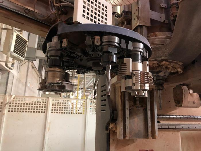MCE023 Scm Record 240 Centro di lavoro per serramenti