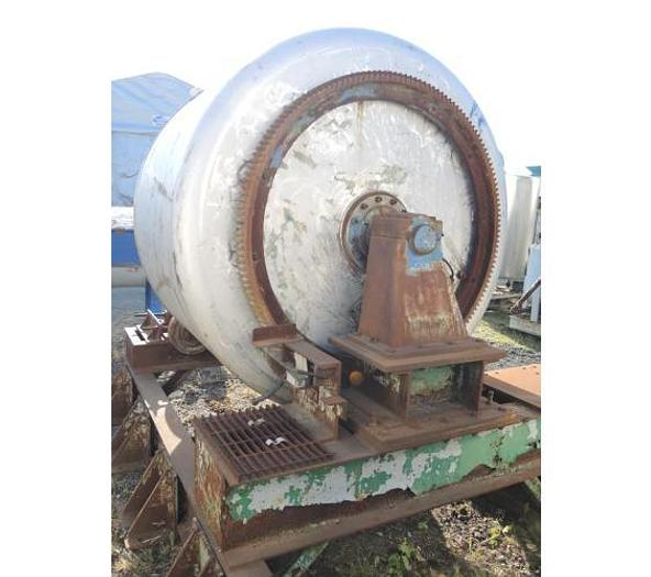USED ROTARY BLENDER, 108 CUBIC FEET