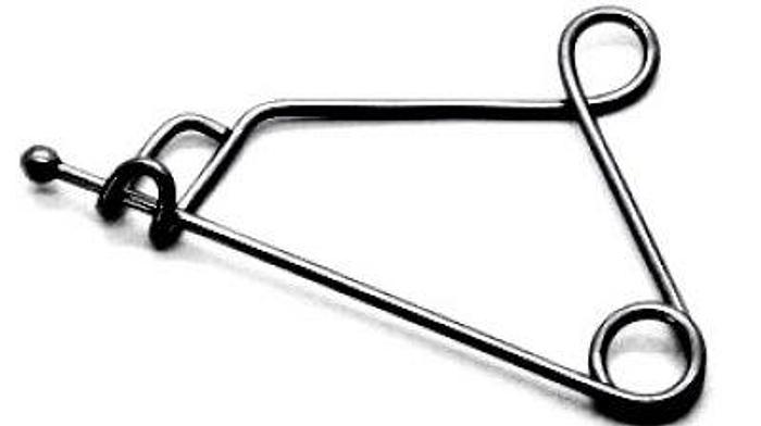 Holder Instrument Safety Pin Type Mayo Single 115mm (4-1/2in)