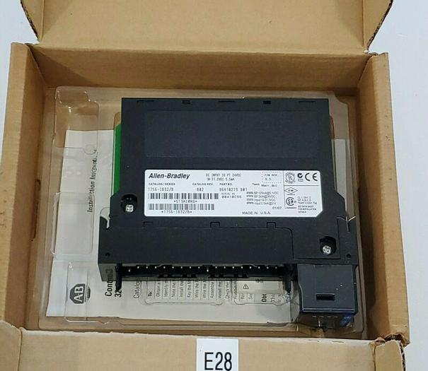 *NEW* Allen Bradley 1756-IB32 DC INPUT MODULE 32PT 10-31.2VDC + WARRANTY