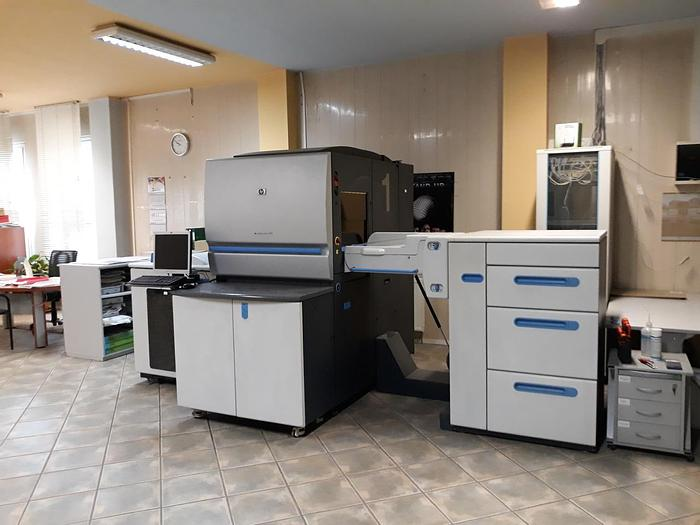 Used HP Hewlett Packard Indigo 5000 4 2