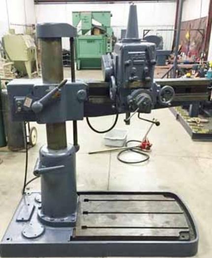"""3' x 7"""" Cincinnati Radial Drill"""