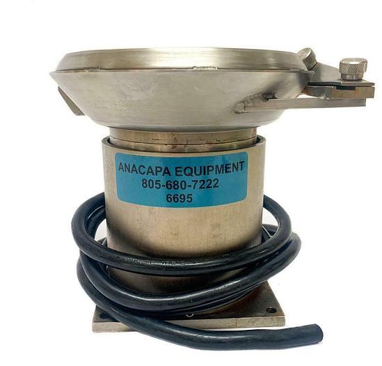 "Used Vibratory Parts, Vibratory Feeder Bowl 5-1/4"" Diameter (6695)W"
