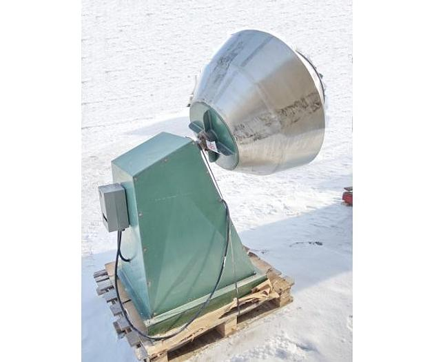 "USED COATING PAN, 39"" DIAMETER X 31"" DEEP, STAINLESS STEEL"