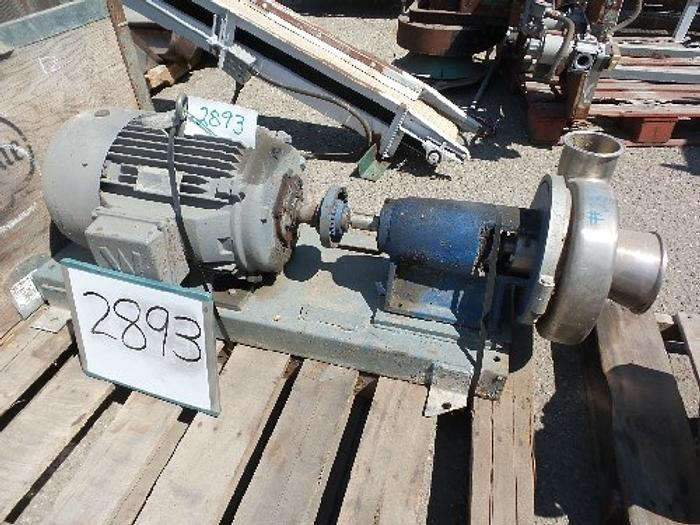 Used SP441QMD Tri -Clover 6'' x 4'' Centrifugal Pump #2893