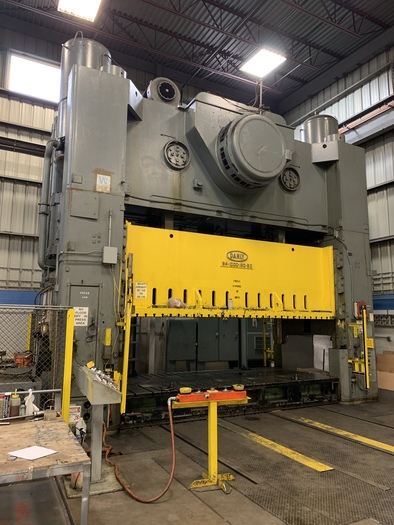 "1000 ton Danly 180""x80""  Press"