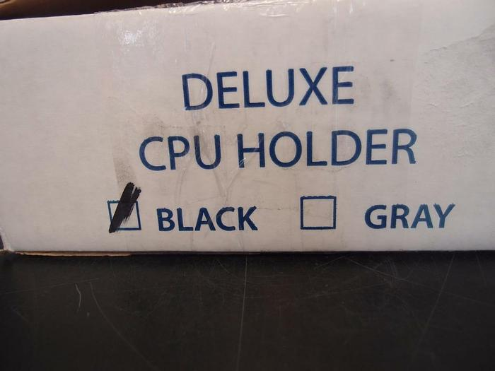 Used Versatable Inc. Deluxe CPU Holder, New, Unused Old Stock (3135)