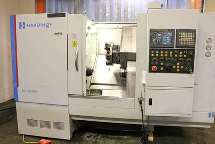Hardinge, SR150-MSY, CNC Multi Axis Turning Center, 2007