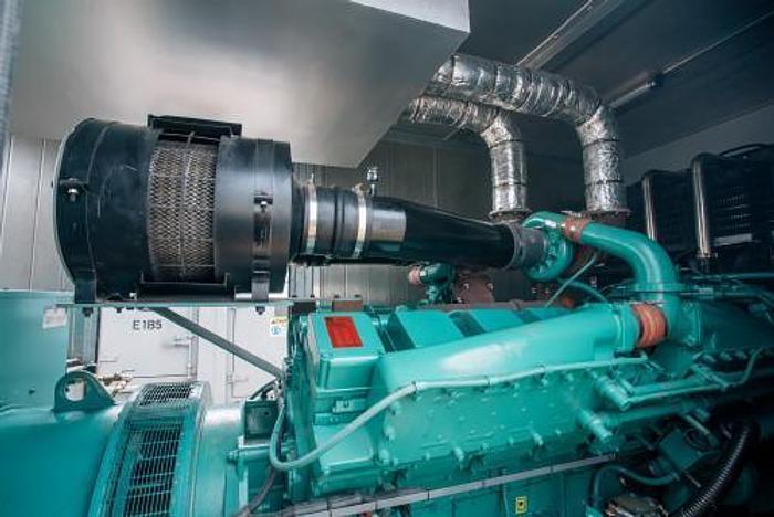 Used 1 MW 2015 Used Nippon NP 1375 SC Diesel Generator Set