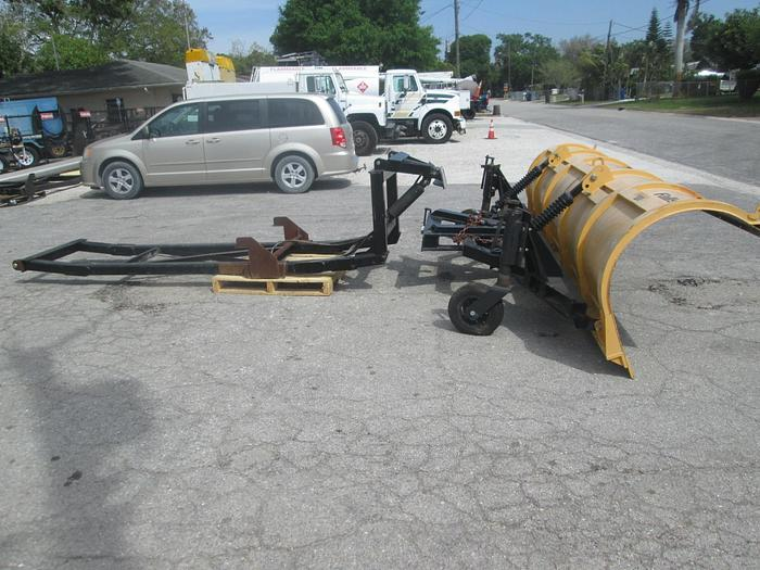 Used New 14' Falls Snow Plow and Truck Carriage