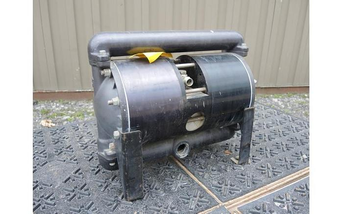 """USED DIAPHRAGM PUMP, 1"""" X 1"""" INLET & OUTLET, """"HIGH PRESSURE"""" ALUMINUM"""