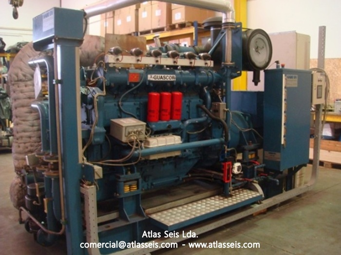 Used 260 kW Gas Power Plant Guascor SFGLD 180