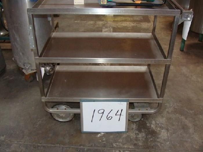 Stainless Steel Lab Cart #1964