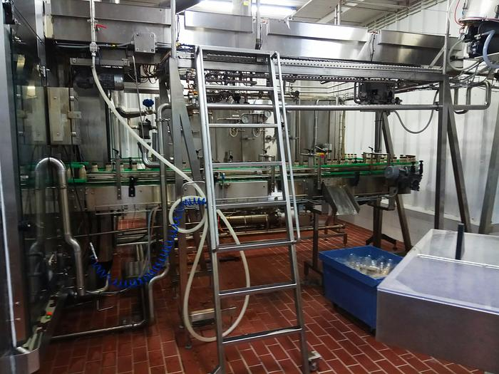 SERAC BOTTLE FILLING & CAPPING MACHINE