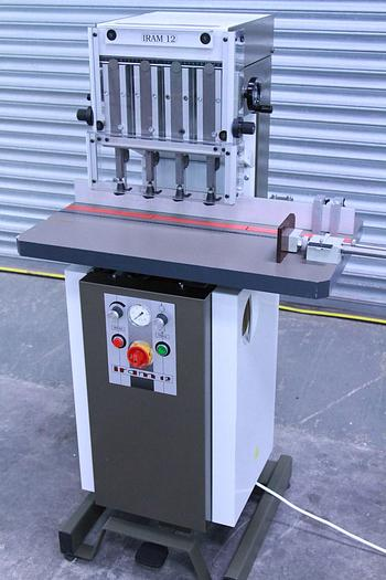 Used IRAM 12 Four Head Paper Drill