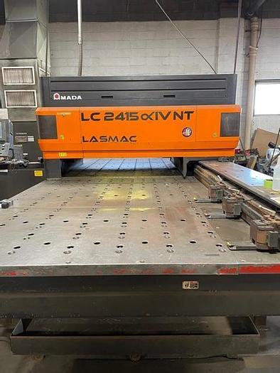 Used 4,000 Watt Amada Pulsar 2415NT CNC Laser