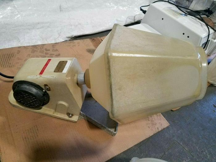 Used Rotary Tumbler Finisher 110V beburr small pieces Polish Smooth Rough Items